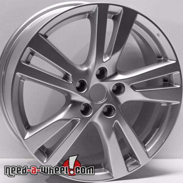 2017 Nissan Altima Oem Replica Wheels 18 Silver Replace Rims 62594