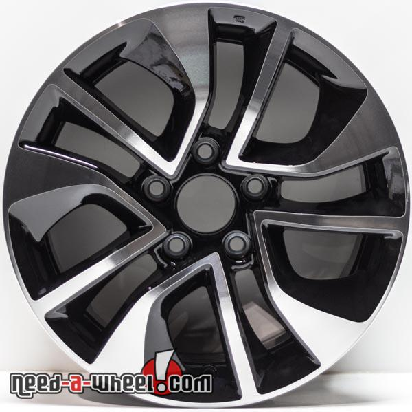 16 Quot Honda Civic Replica Wheels 2013 2015 Machined Replace