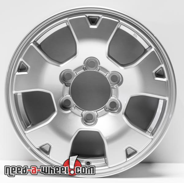 16 toyota tacoma replica wheels 2005 2014 silver replace. Black Bedroom Furniture Sets. Home Design Ideas