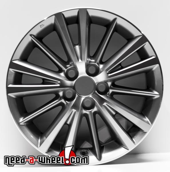 "Toyota Corolla oem wheels 16x6.5"" stock rims"