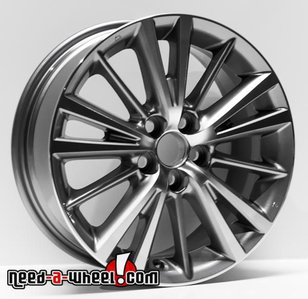 16 Toyota Corolla Replica Wheels 2014 2017 Machined Replace Rims 75150