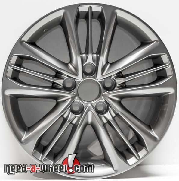 17 Toyota Camry Oem Replica Wheels 2017 Machined For Rims 75171